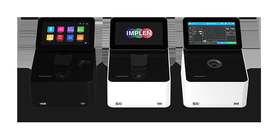 implen, nanophotometer, spectrophotometer, nanodrop alternative, nano drop, NanoPhotometers
