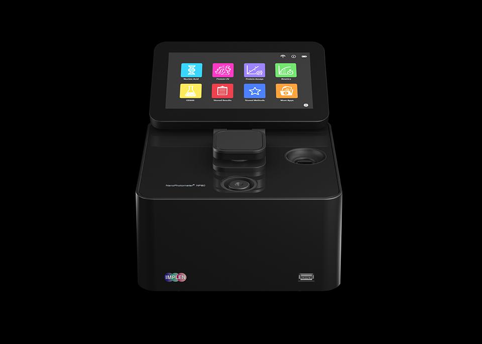 implen, nanophotometer, spectrophotometer, nanodrop alternative, nano drop, NanoPhotometer-NP80-spectrophotometer