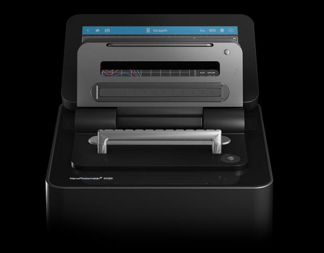 NanoPhotometer-N120-12-channel-nano-volume-spectrophotometer-implen-nanophotometer-spectrophotometer-nanodrop-alternative-maintenance-free