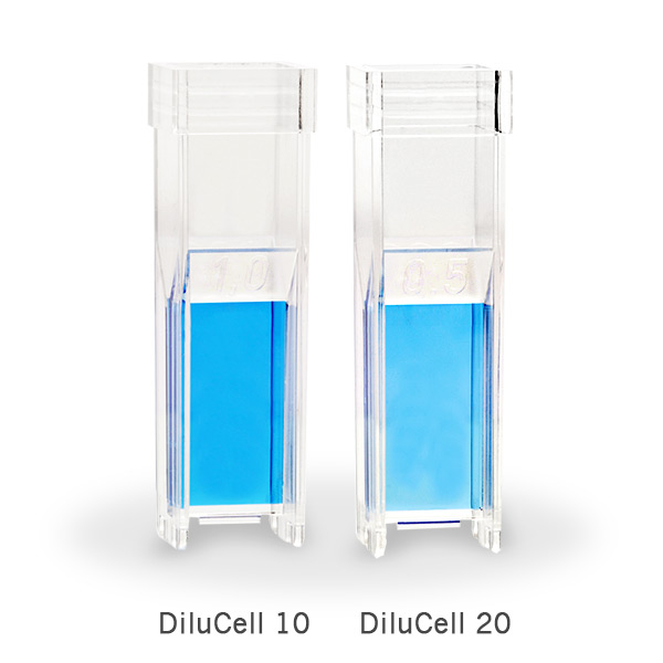 DiluCell-10-and-DiluCell-20-by-implen-cuvette-spectrophotometer